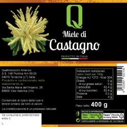 Chestnut Honey - Quattrociocchi - 400gr