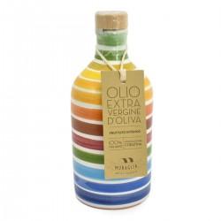 Extra Virgin Olive Oil Rainbow Ceramic Jar coratina - Muraglia - 100ml