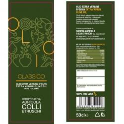Extra Virgin Olive Oil Classic - Colli Etruschi - 500ml