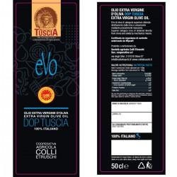 Extra Virgin Olive Oil EVO PDO Tuscia - Colli Etruschi - 500ml