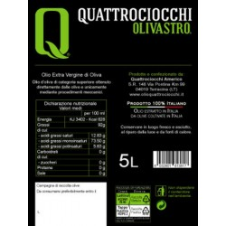 Extra Virgin Olive Oil Olivastro can - Quattrociocchi - 5l
