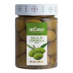 Bella di Cerignola Olives - De Carlo - 330gr