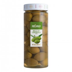 Bella di Cerignola Olives - De Carlo - 580gr