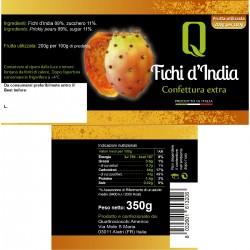Prickly Pear Jam - Quattrociocchi - 350gr