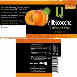 Apricot Jam - Quattrociocchi - 350gr