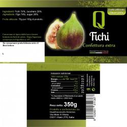 Figs Jam - Quattrociocchi - 350gr