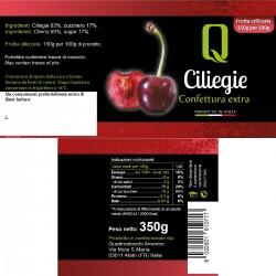 Cherries Jam - Quattrociocchi - 350gr