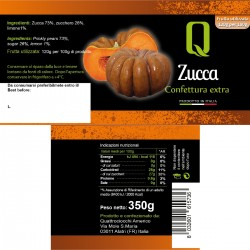 Yellow Pumpkin Jam - Quattrociocchi - 350gr