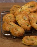 Savory Biscuits with extra virgin olive oil