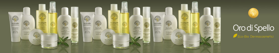 Olive Oil cosmetics - Oro di Spello